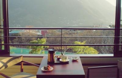 リージェンシー箱根からの風景
